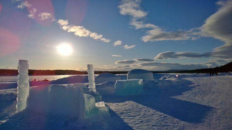 Ice Hotel Scenery