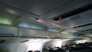 Aurora View Inside Icelandair cabin