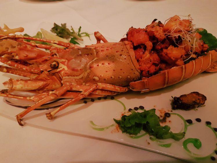 The Song of India Tandoori Lobster
