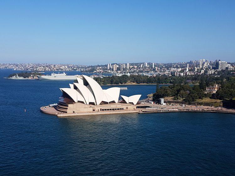 Sydney Opera House Pylon View