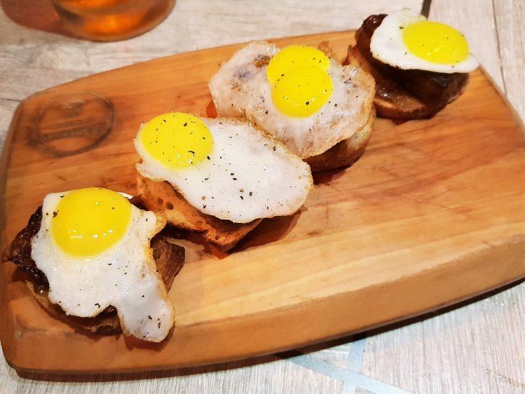 Tapas Club Quail Egg Chorizo