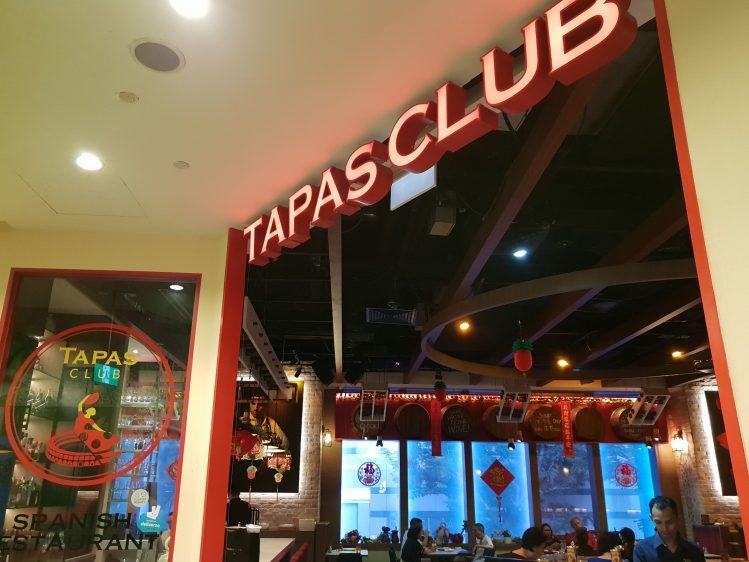 Tapas Club Exterior