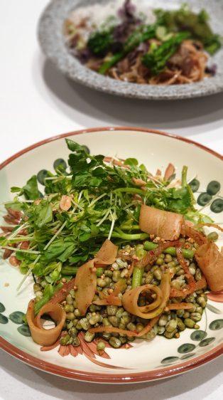 Kimchi & Mung Bean Salad